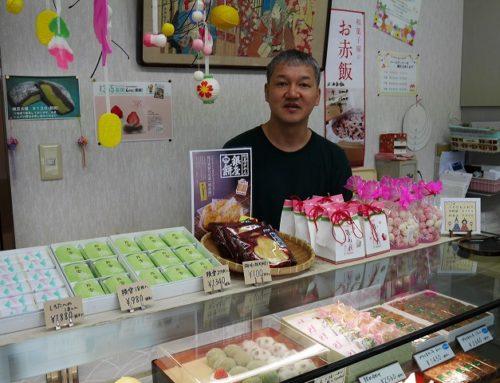 地場産の越後姫を使った苺大福とジャム「お菓子の茨木屋」